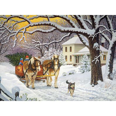 Homeward Bound 1000 Piece Jigsaw Puzzle