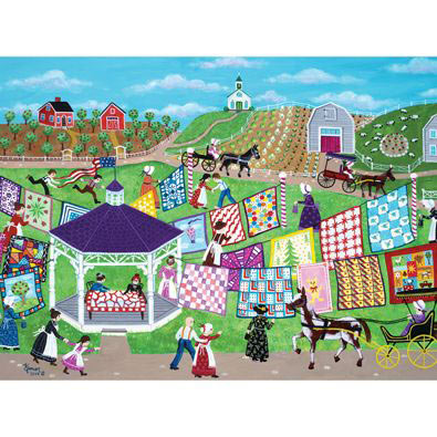 Country Quilt Show 1000 Piece Jigsaw Puzzle