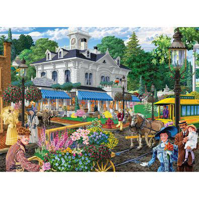 Victorian Spring 1500 Piece Giant Jigsaw Puzzle