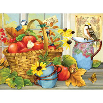 September Apples 1000 Piece Jigsaw Puzzle