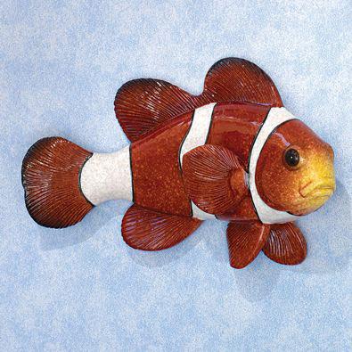 Tropical Fish Wall Art - Clown Fish