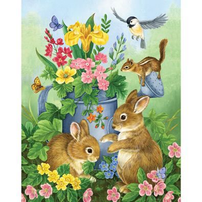 A Touch of Spring 100 Large Piece Jigsaw Puzzle
