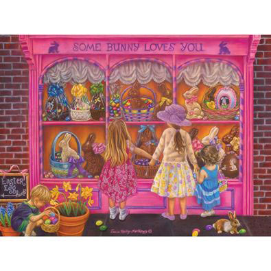 Some Bunny Loves You 1000 Piece Jigsaw Puzzle