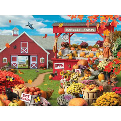 Colors of The Season 1000 Piece Jigsaw Puzzle