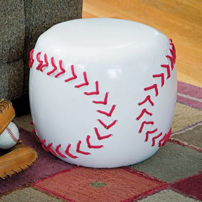 Baseball Sports Stool