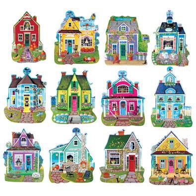 Mini Shaped Cottage Puzzles