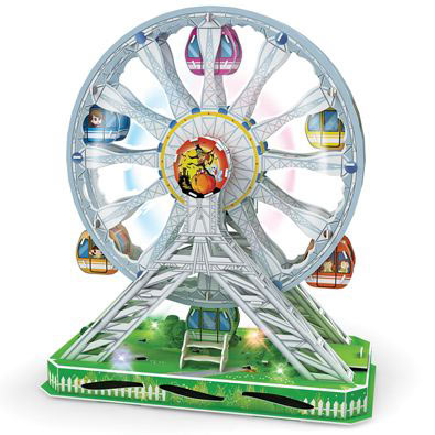 Ferris Wheel - Classic Amusement Park Rotating Models