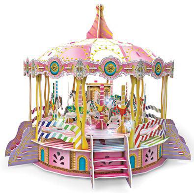 Carousel - Classic Amusement Park Rotating Models