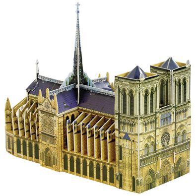 Notre Dame 3-D Puzzle Model