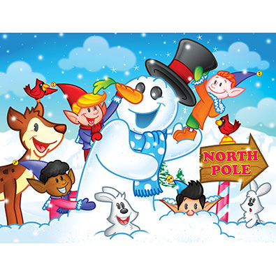 Frosty The Snowman 200 Large Piece Jigsaw Puzzle