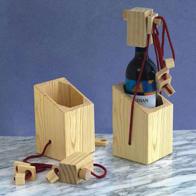 Bewildering Wine Bottle Puzzle
