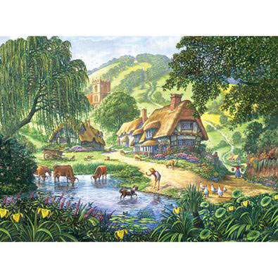 The Old Pond 300 Large Piece Jigsaw Puzzle
