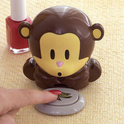 Monkey Nail Polish Dryer