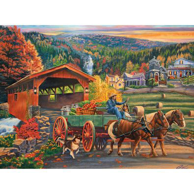 Market Day 1000 Piece Jigsaw Puzzle