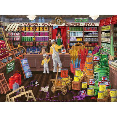 Color It Purple 500 Piece Jigsaw Puzzle