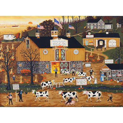 When The Cows Come Home 1000 Piece Jigsaw Puzzle