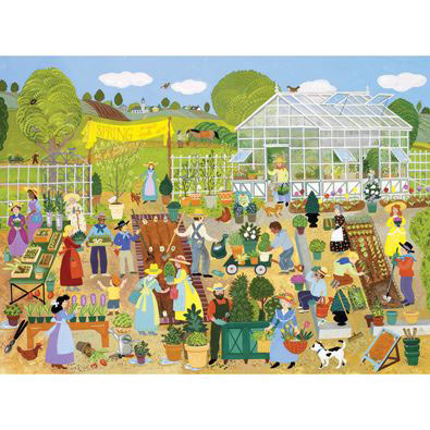 Plant Sale 300 Large Piece Jigsaw Puzzle