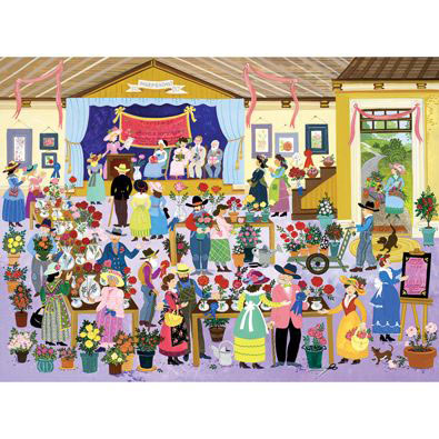 Rose Show 300 Large Piece Jigsaw Puzzle