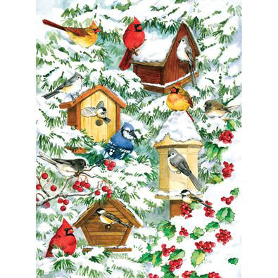Winter Warmth 300 Large Piece Jigsaw Puzzle