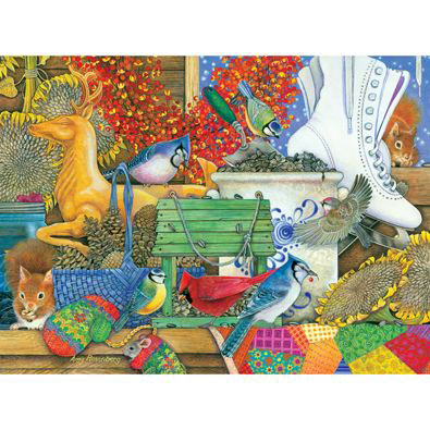 Winter Feasting 1000 Piece Jigsaw Puzzle