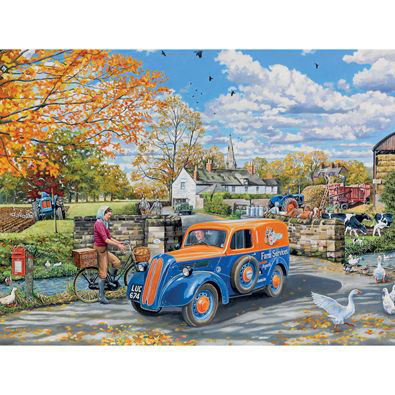 Farm Services 500 Piece Jigsaw Puzzle