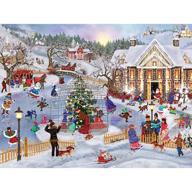 Holiday Pastimes 300 Large Piece Jigsaw Puzzle