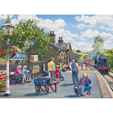 Oakworth Station 500 Piece Jigsaw Puzzle