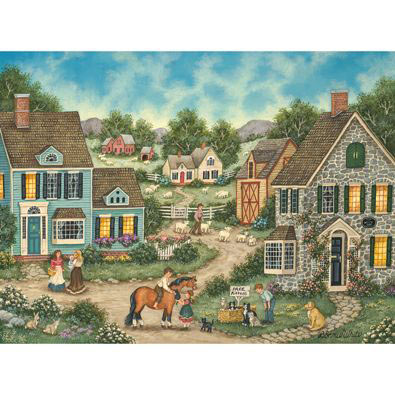 Free Kittens 1000 Piece Jigsaw Puzzle