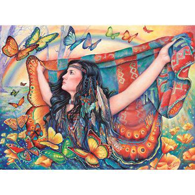 Butterfly Blanket 500 Piece Jigsaw Puzzle