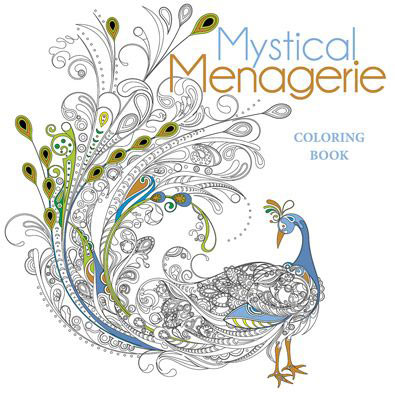 Mystical Menagerie Coloring Book