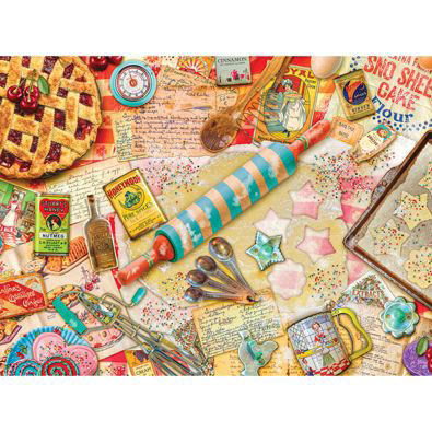 Vintage Baker 300 Large Piece Jigsaw Puzzle