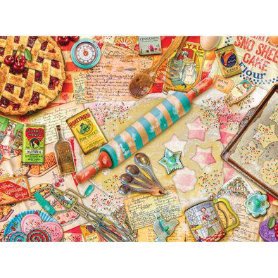 Vintage Baker 1000 Piece Jigsaw Puzzle