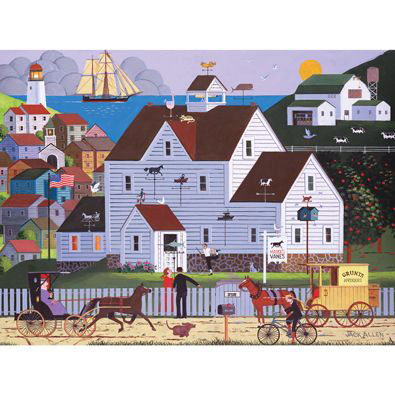 Marge's Vanes 300 Large Piece Jigsaw Puzzle