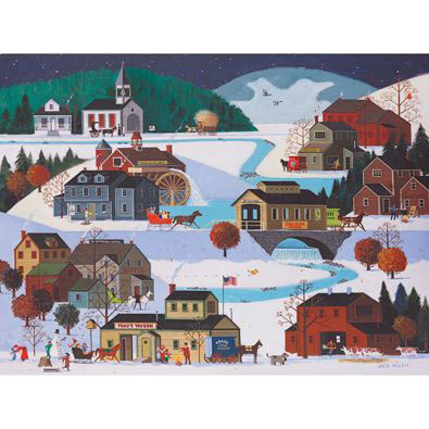 Company Town 300 Large Piece Jigsaw Puzzle