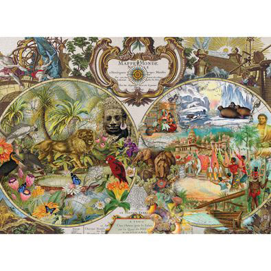 The World-Exotic Destinations 500 Piece Jigsaw Puzzle