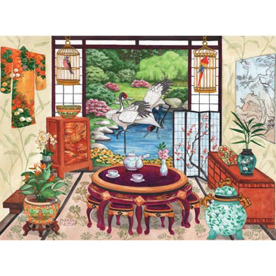 Japanese Tea Room 1000 Piece Jigsaw Puzzle