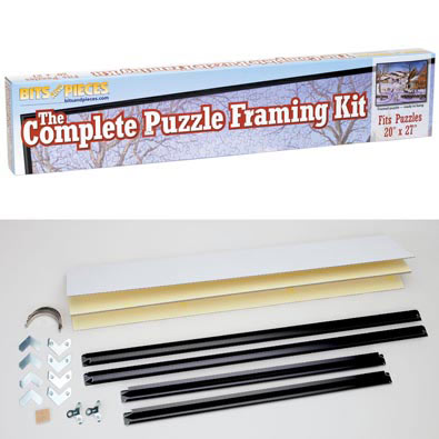 20 X 27 Complete Puzzle Framing Kit Bits And Pieces