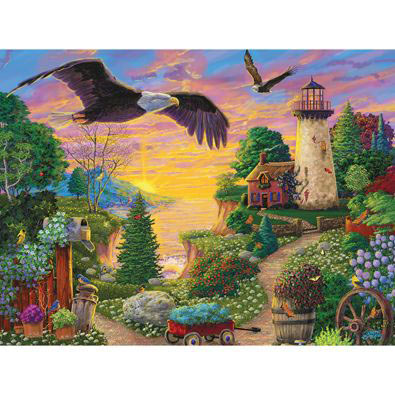 Golden Glory 500 Piece Jigsaw Puzzle