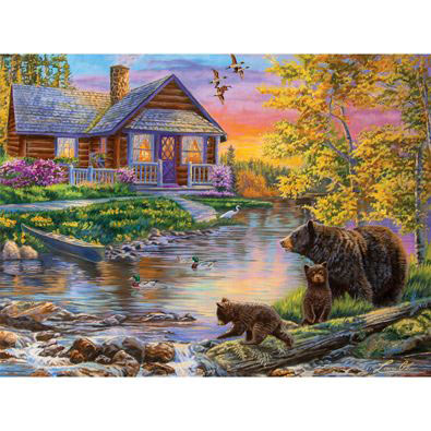 Family Outing 1000 Piece Jigsaw Puzzle