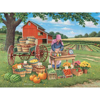 Fruits Of Her Labor 500 Piece Jigsaw Puzzle