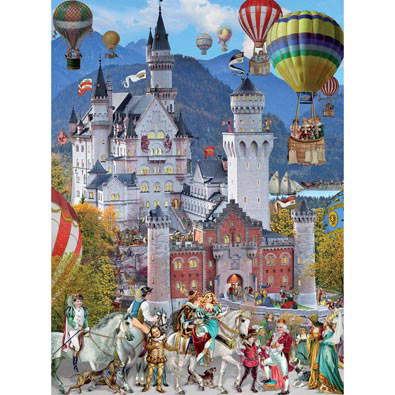 Royal Wedding 1000 Piece Glitter Jigsaw Puzzle Bits And