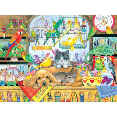 Polly's Pet Shop 300 Large Piece Jigsaw Puzzle