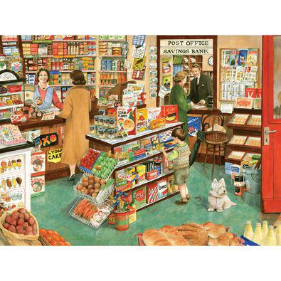 Village Shop 300 Large Piece Jigsaw Puzzle