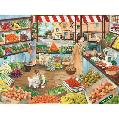 Green Grocers 500 Piece Jigsaw Puzzle