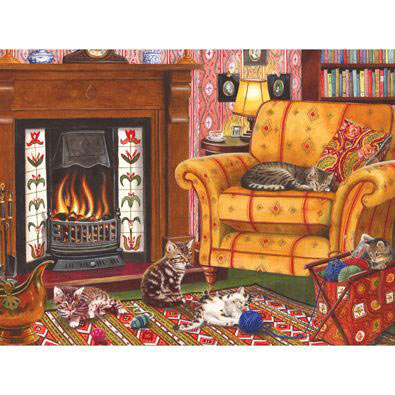 Cozy Cats 500 Piece Jigsaw Puzzle