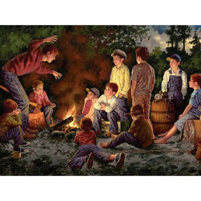 The Storyteller 300 Large Piece Jigsaw Puzzle