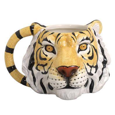 Tiger Shaped Mug