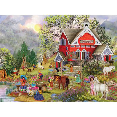 Luv My Pony 300 Large Piece Jigsaw Puzzle