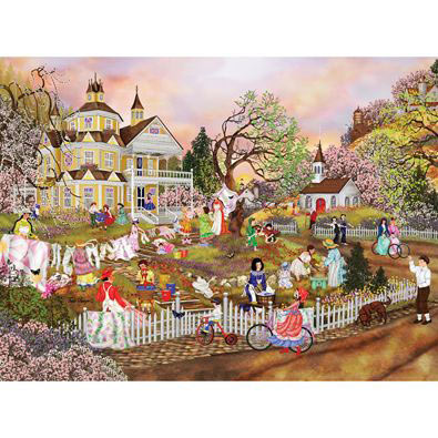 Spring Wash 1000 Piece Jigsaw Puzzle