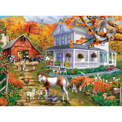 Country Greetings 1000 Piece Jigsaw Puzzle